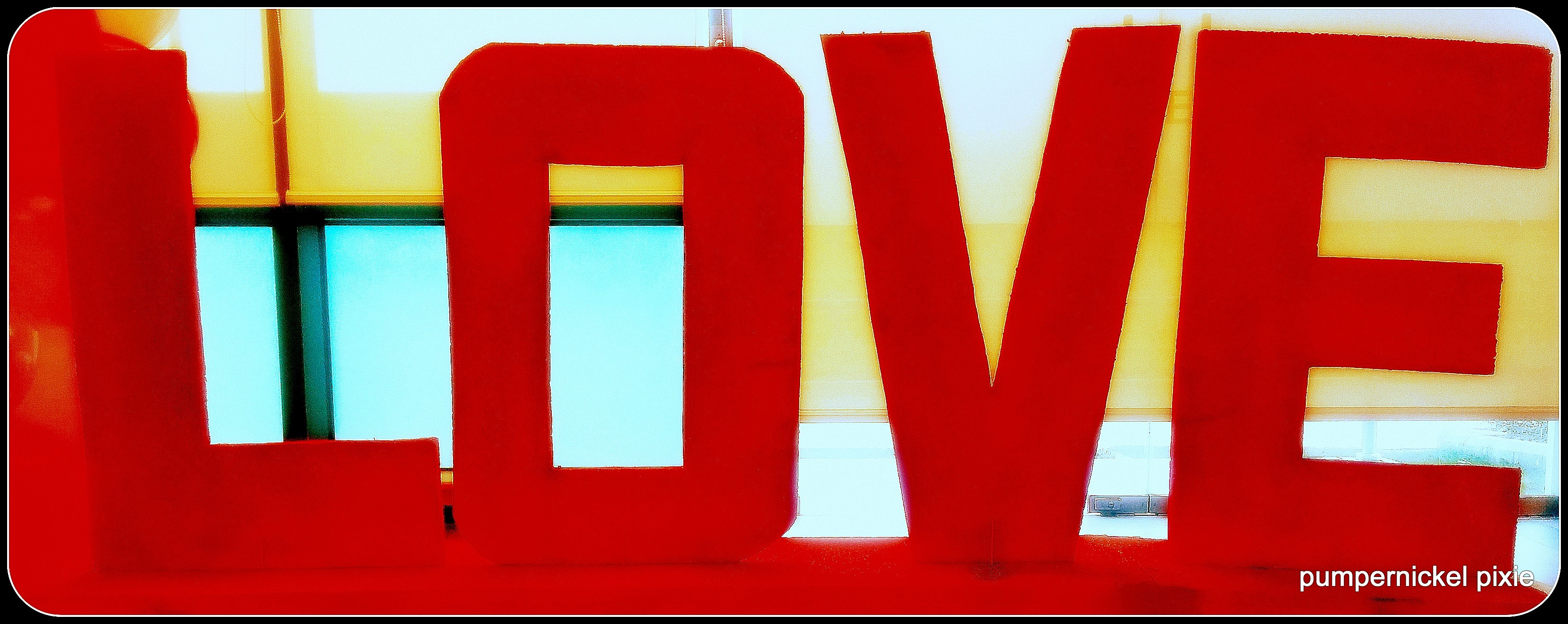 love photography love sign one week one photo on pumpernickel pixie
