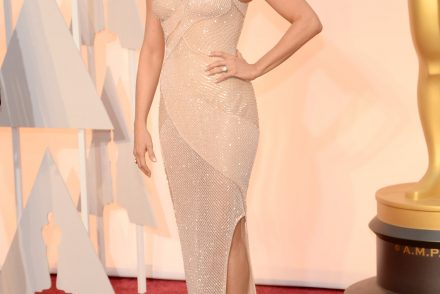 oscars 2015 red carpet fashion pumpernickel pixie