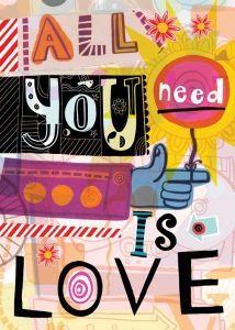 love yourself love is all you need spread love word for the year 2015 love pumpernickel pixie