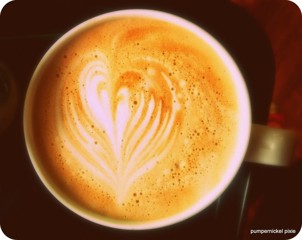 coffee latte art photography a photo a week on pumpernickel pixie