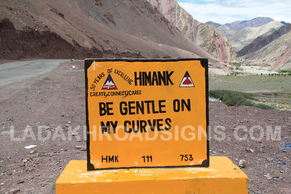 leh ladakh india road signs border road organisation road signs road trip road travel on pumpernickel pixie