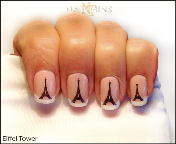 nail decals nail stickers nail art fashion nails manicures on pumpernickel pixie