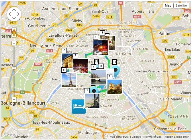 Maps Update 21051488 Attractions in Paris Map Paris Printable – Travel Map of Paris