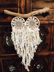 dreams, home decor, bedroom decor, owl, dream catcher, dreamcatcher, native american, new age movement, good luck charm, traditional, vintage, etsy, positive, optimism, hope, happy, happiness, pumpernickel pixie