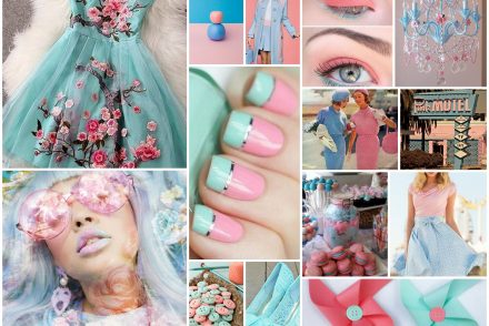 pink, blue, vintage, surreal, color, mood board, fashion, dress, vogue, summer, makeup, eyeshadow, french nails, heels, pinwheels, lavender pink, ice cold blue, cotton candy, princess, light pink, light blue, color pairings, color combinations pumpernickel pixie