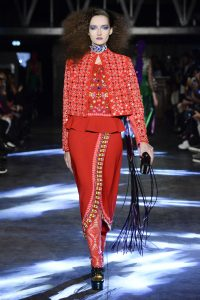 fashion week, spring summer 2016, paris, ready to wear, manish arora, indian fashion designer, india, kitsch, psychedelic, colorful, bohemian, gypsy, disco, hippie, quirky, drama, embellished, fun, happy, sequins, embroidery, tassels, prints, wearable fashion, eye catching, exclusively.com, vogue, runway, pumpernickel pixie