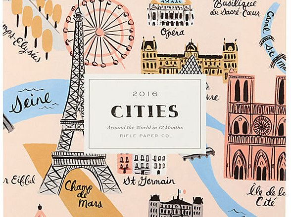 travel calendars, travel calendar 2016, travel, calendar, calendar 2016, print calendar, desk calendar, illustrated calendar, cities calendar, vintage calendar, world traveler calendar, calendar art, calendar illustration, 2016, pumpernickel pixie
