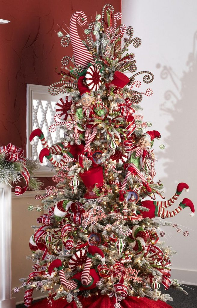 christmas tree christmas tree decor christmas tree themes christmas tree ideas whimsical - Candyland Christmas Decorations