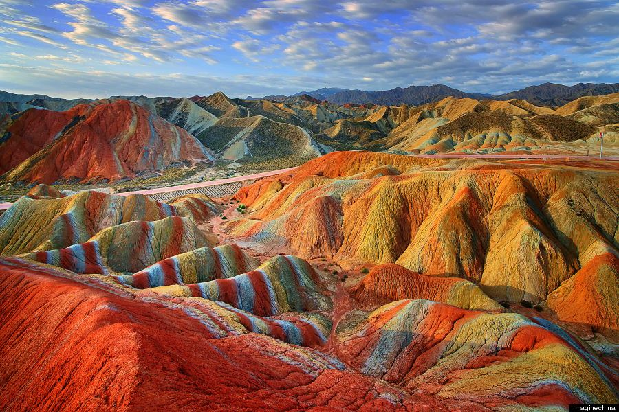 rainbow mountains, china, Zhangye Danxia National Geological Park, gansu china, natural wonder, nature travel destinations, geology, geography, world heritage site unesco, china travel, unique travel destinations, china, nature, earth, jyo, pumpernickel pixie