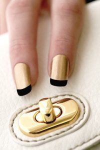 french manicure nails diy