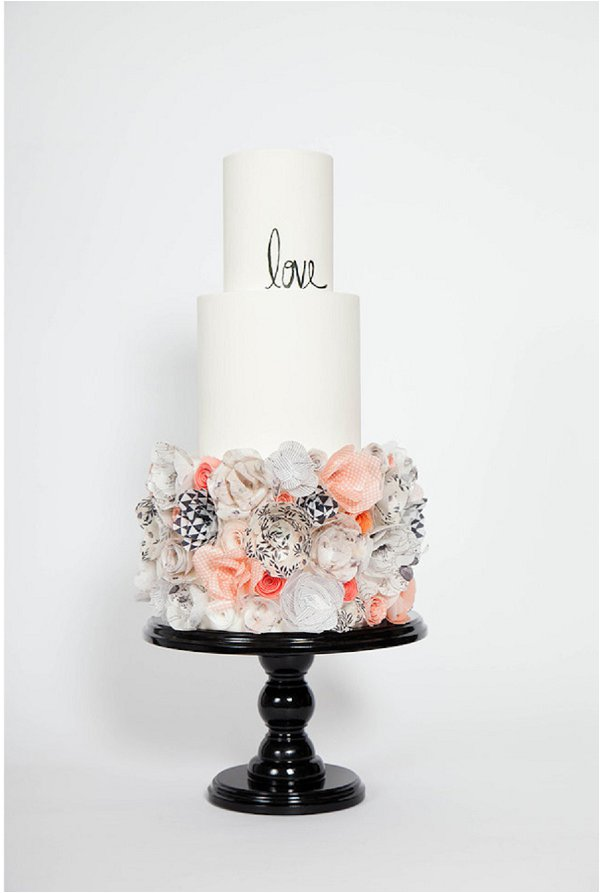 rice paper cake 2015 wedding cake trends