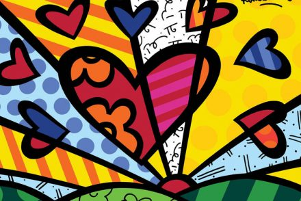romero britto pop art contemporary art modern art graffiti art pumpernickel pixie