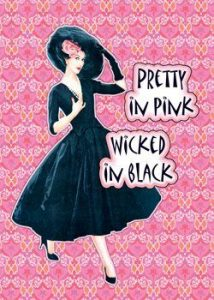 retro vintage quotes ads posters featuring women pumpernickel pixie