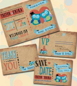 owl themed wedding invitations pumpernickel pixie
