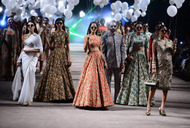 lakme fashion week summer resort 2015 sabyasachi pumpernickel pixie
