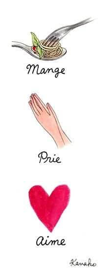 eat pray love book movie quotes wisdom on pumpernickel pixie