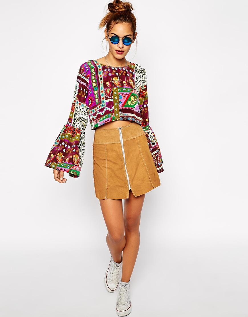 spring fashion trends 2015 on pumpernickel pixie patchwork paisley crop top asos