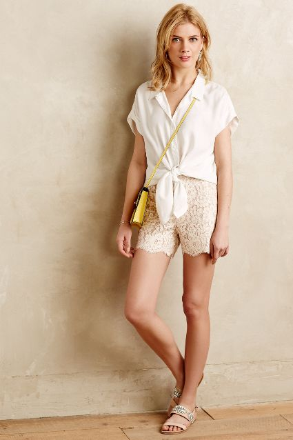 spring fashion trends 2015 on pumpernickel pixie lace shorts anthropologie