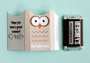 cute easy fun owl printable owl diy owl craft owl wrapper for hersheys chocolate owl gift wrap owl miss you printable pumpernickel pixie