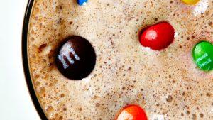 milkshake, thick shakes, ice cream shakes, chocolate shakes, summer shakes, milkshake recipes, rum and coke shake, chocolate shake, m&m shake, rolo shake, m&ms, rolos, bitememore, pumpernickel pixie
