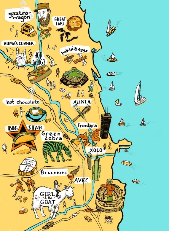 Sparkle #115: Illustrated Travel Maps – Pumpernickel Pixie on