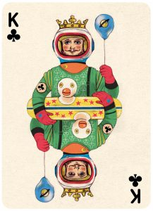 playing cards, deck of cards, illustrations, art, playing cards illustration, playing cards art, pin up cards, playful cards, vintage, modern, contemporary, creative, imagination, pumpernickel pixie, art and design