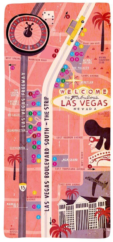 Sparkle 115 Illustrated Travel Maps Pumpernickel Pixie