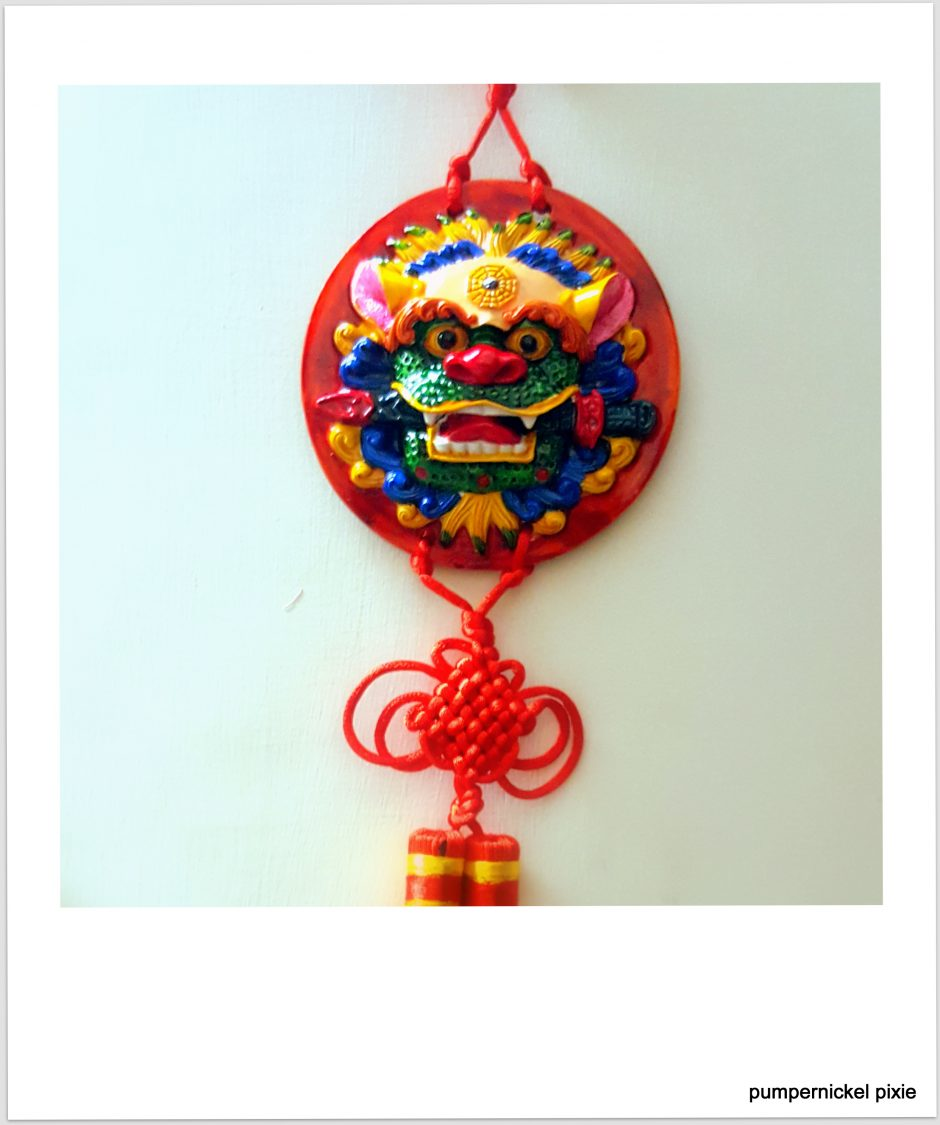 darjeeling, buddha, buddhism, dragon, mythic, tales, charm, symbol, hanging, protect, evil eye, peace, india, dragon hanging, dragon banner, dragon charm, photo a week, photography, pumpernickel pixie
