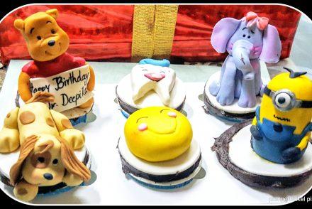 india, hey sugar, sugar rush, cupcakes, bake, birthday, sister birthday, made to order, customized, minion cupcake, dental cupcake, winnie the pooh cupcake, smiley cupcake, elephant cupcake, puppy cupcake, kid birthday, photo a week, photography, pumpernickel pixie