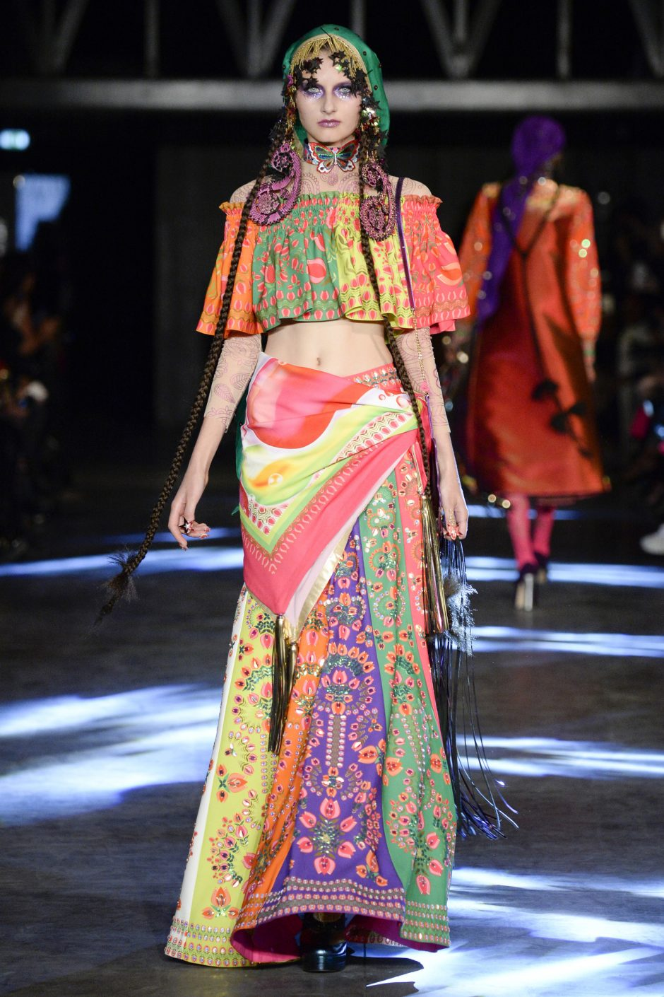 Sparkle 136 Disco Gypsy At Paris Fashion Week Pumpernickel Pixie