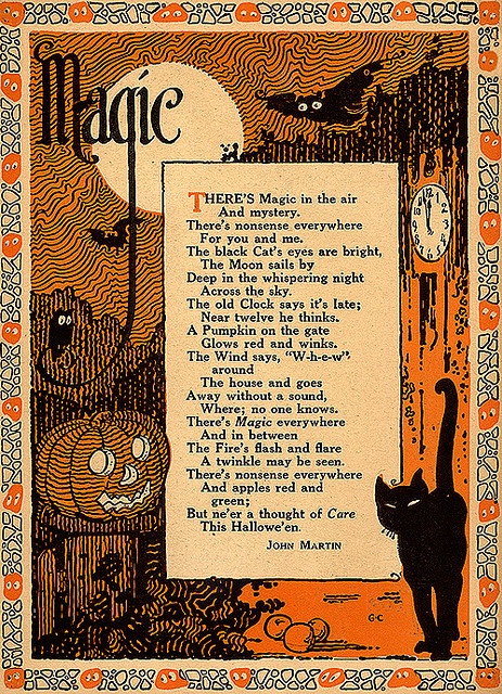 halloween, 2015, fall, festival, witches, magic, full moon, whimsical, halloween quotes, halloween greetings, halloween sayings, pumpkins, halloween night, the witching hour, wizards, black cat, good luck, magical night, pumpernickel pixie