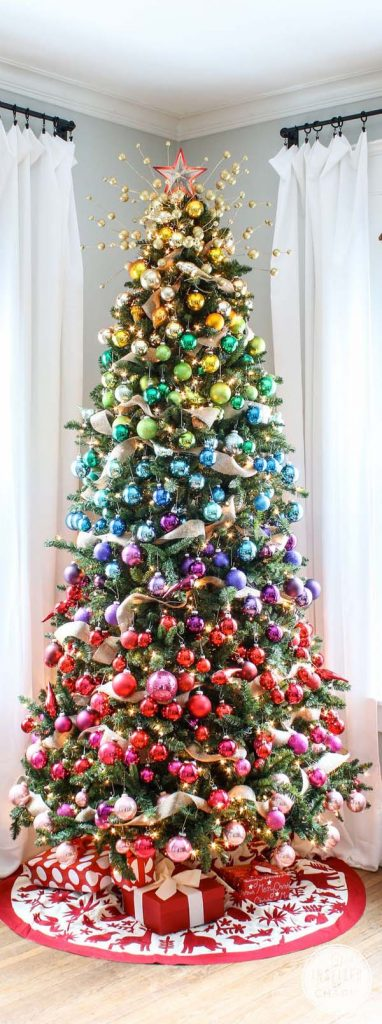 christmas tree, christmas tree decor, christmas tree themes, christmas tree ideas, whimsical christmas tree, barn owl christmas tree, barn christmas tree, candy land christmas tree, gradient christmas tree, multicolored christmas tree, red white christmas tree, gold white christmas tree, snow christmas tree, lighting christmas tree, chandieler christmas tree, creative christmas tree, fairy tale christmas tree, enchanted christmas tree, peppermint christmas tree, top christmas trees, christmas tree diy, pumpernickel pixie