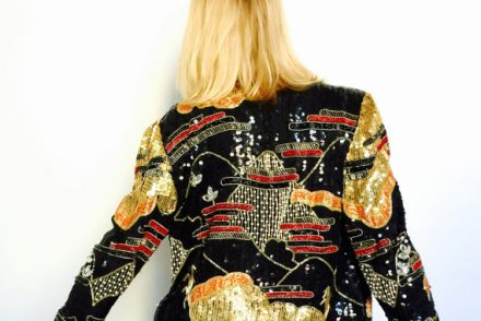 statement jacket, embellished jacket, beaded jacket, sequin jacket, party jacket, lace jacket, couture jacket, jackets, coats, new years party, party wear, pumpernickel pixie