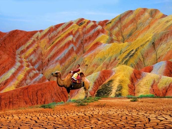 rainbow mountains, china, Zhangye Danxia National Geological Park, gansu china, natural wonder, nature travel destinations, geology, geography, world heritage site unesco, china travel, unique travel destinations, china, nature, earth, jyo, pumpernickel pixie